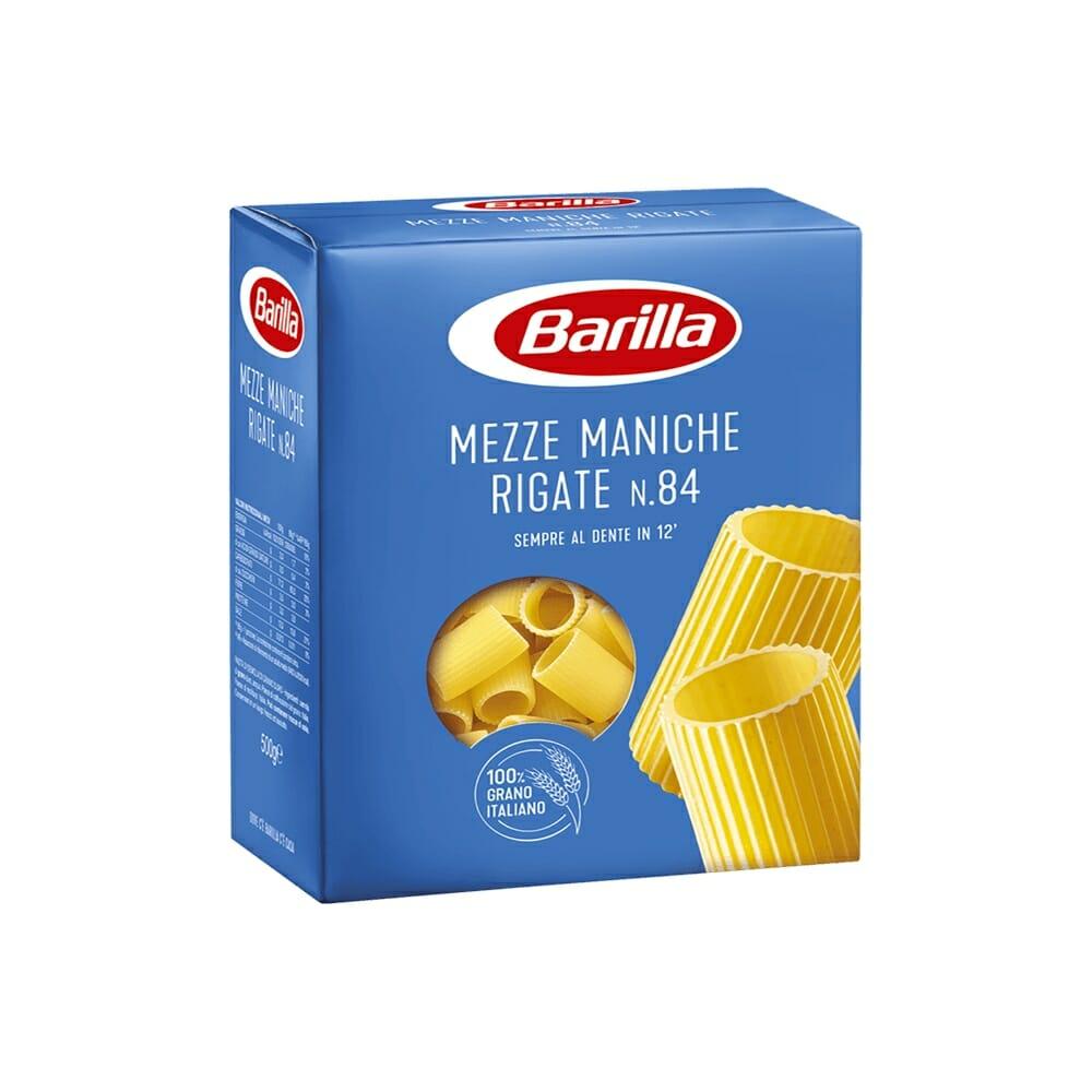 Barilla 84 Mezze Maniche Rigate - 500 gr