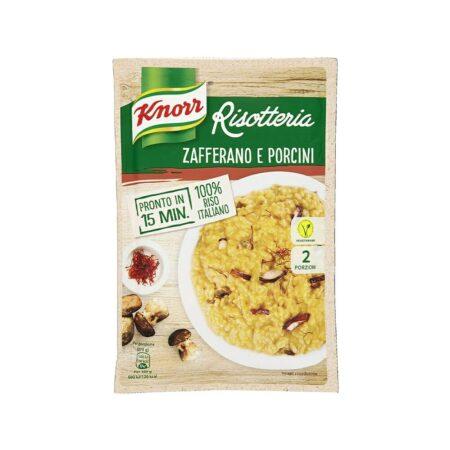 Knorr Risotto ai Funghi Porcini e Zafferano - 175 gr