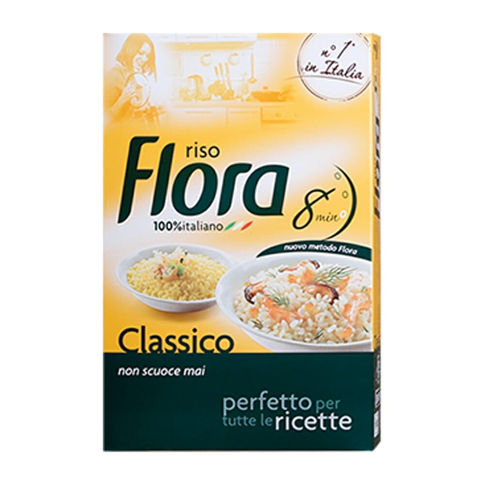 Flora Riso Parboiled Classico - 1Kg