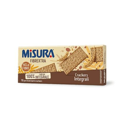 Misura Crackers Integrali Fibrextra - 385 gr
