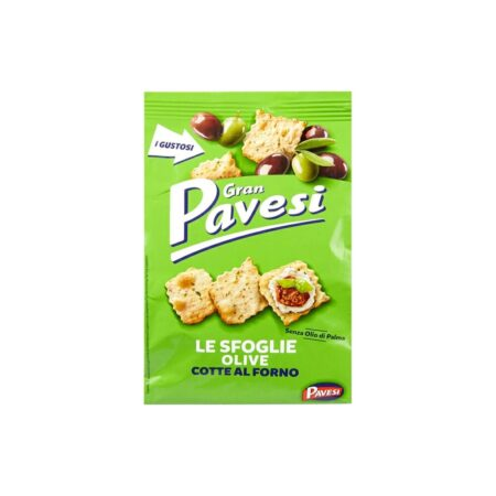 Gran Pavesi Le Sfoglie alle Olive - 160 gr
