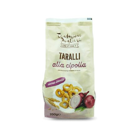 Tentazioni Pugliesi Taralli Cipolla - 250 gr
