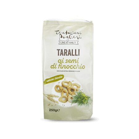Tentazioni Pugliesi Taralli Finocchio - 250 gr