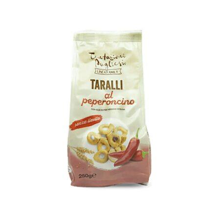 Tentazioni Pugliesi Taralli Peperoncino - 250 gr