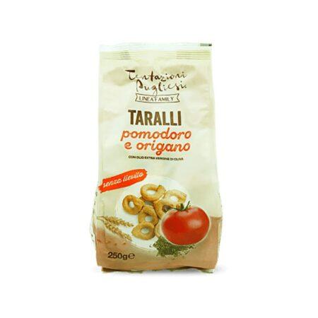 Tentazioni Pugliesi Taralli Pomodoro e Origano - 250 gr