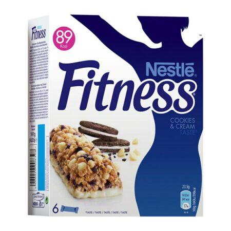 Fitness Barrette Cookies E Cream 4 pz - 90 gr