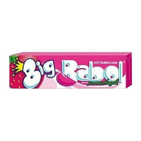Big Babol Mega Panna Fragola - 37 gr