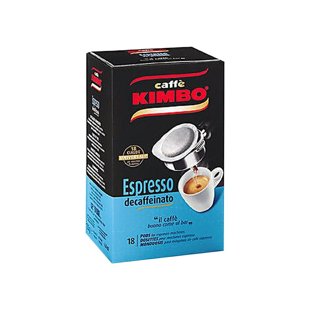 Kimbo Caff� Espresso Decaffeinato - 18 Cialde