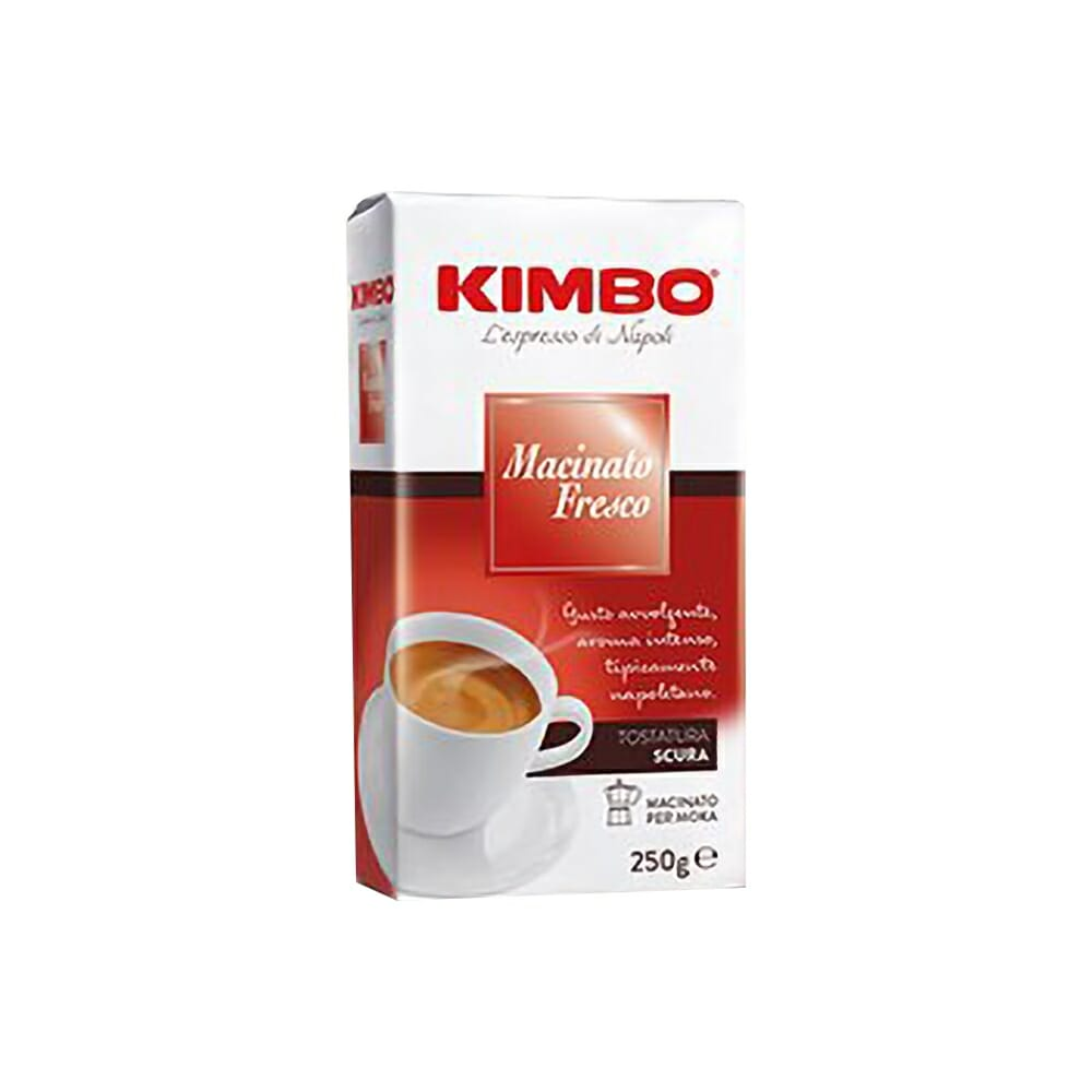 Kimbo Caff� Macinato Fresco - 250 gr