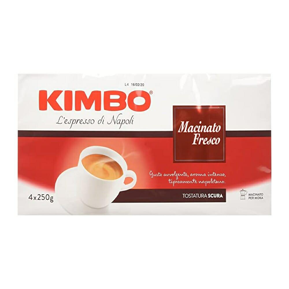 Kimbo Caff� Macinato Fresco - 4 x 250 gr