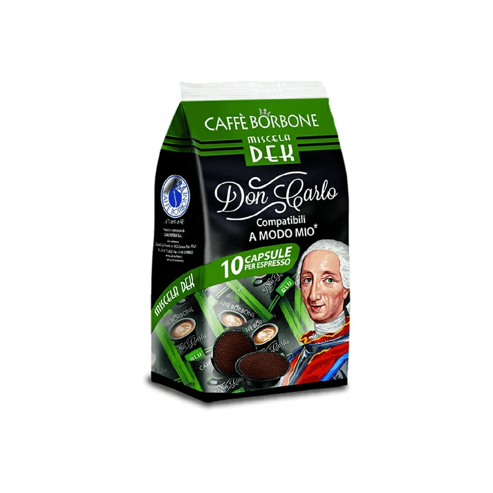 """Borbone Caff� Dek """"A Modo Mio"""" - 10 Capsule"""