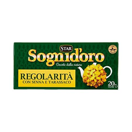 Sogni d'Oro Tisana Regolarit� - 20 Filtri