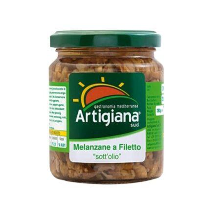 Artigiana Sud Melanzane a Filetti sott'olio - 280 gr