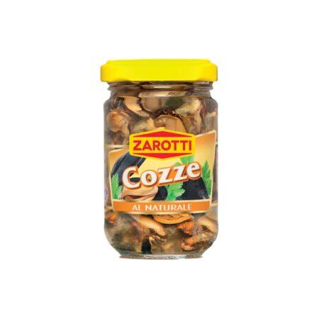 Zarotti Cozze al Naturale - 140 gr