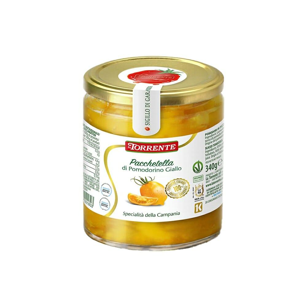 La Torrente Pacchetelle di Pomodorini Gialli - 340 gr