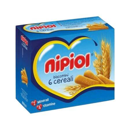 Nipiol Biscottini ai 6 Cereali - 360 gr