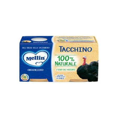 Mellin Omogeneizzato Tacchino - 2 x 80 gr