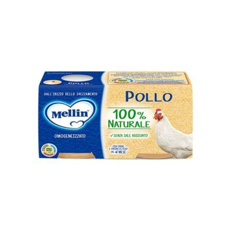 Mellin Omogeneizzato Pollo -  2 x 80 gr
