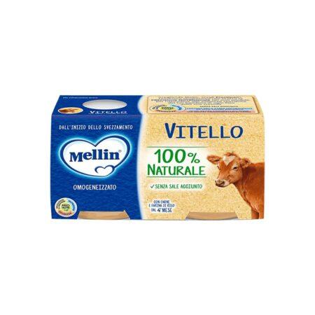 Mellin Omogeneizzato Vitello - 2 x 80 gr