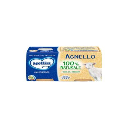 Mellin Omogeneizzato Agnello - 2 x 80 gr