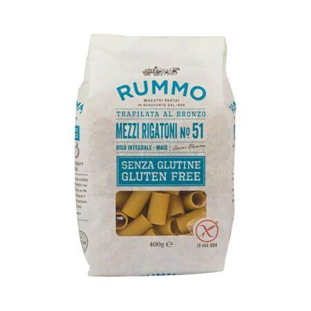 Rummo 51 Mezzi Rigatoni Senza Glutine - 400 gr