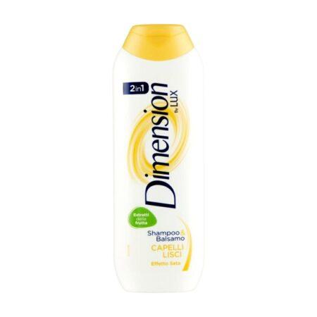 Dimension Shampoo & Balsamo 2 in 1 Capelli Lisci - 250 ml