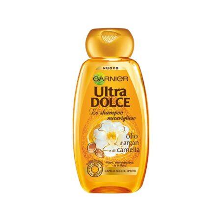 Garnier Ultra Dolce Shampoo Olio d'Argan e Camelia - 300 ml