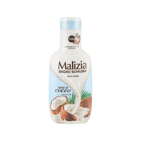 Malizia Bagnoschiuma Addolcente Latte di Cocco - 1 L