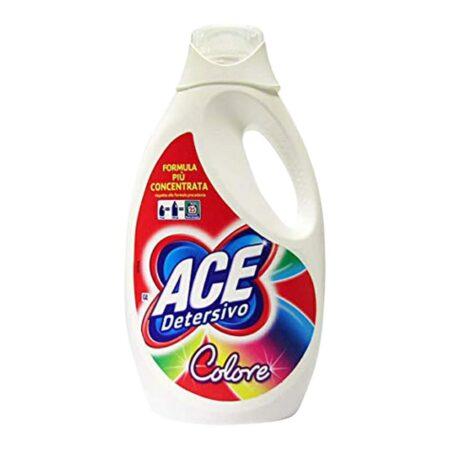 Ace Detersivo Lavatrice Igienizzante Colorati 25 lav. - 1375 ml