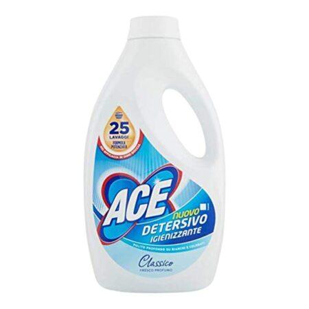 Ace Detersivo Lavatrice Igienizzante 25 lav. - 1375 ml