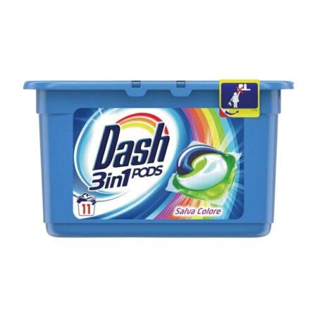 Dash Pods Lavatrice 3in1 Salva Colore - 15 pods