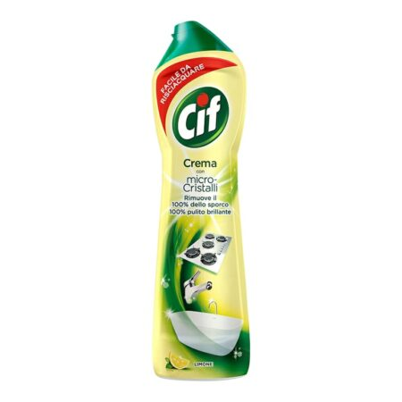 Cif Crema Microcristalli Limone - 500 ml