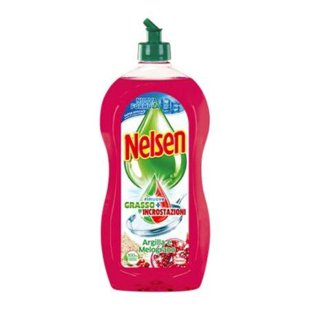 Nelsen Detersivo Piatti Argilla e Melograno - 900 ml