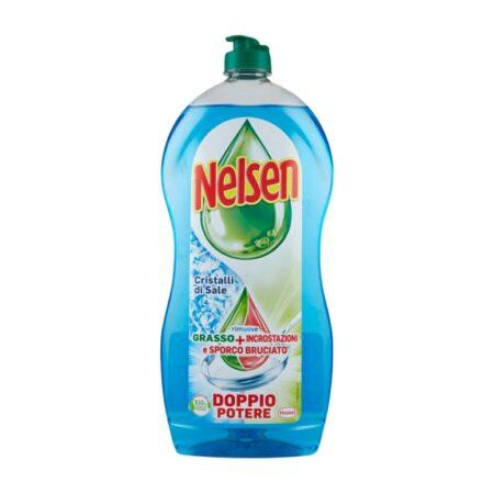 Nelsen Detersivo Piatti Cristalli di Sale - 900 ml