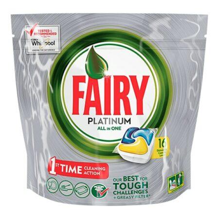 Fairy Tutto in 1 Platinum Limone Lavastoviglie - 16 Caps