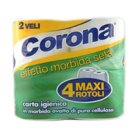 Corona Carta Igienica Rotoli Maxi - 4 pz