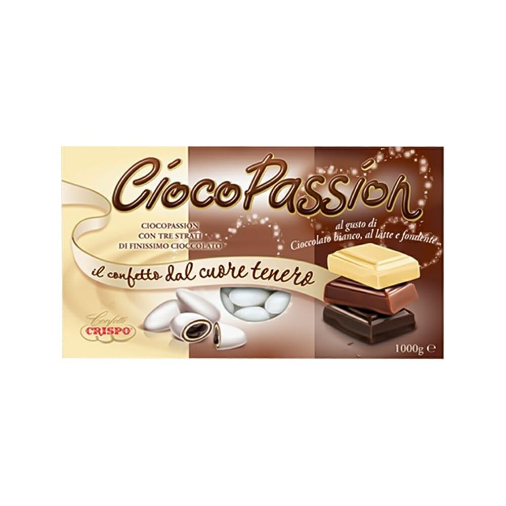 Crispo Confetti Ciocopassion Tris Cioccolato - 1 Kg