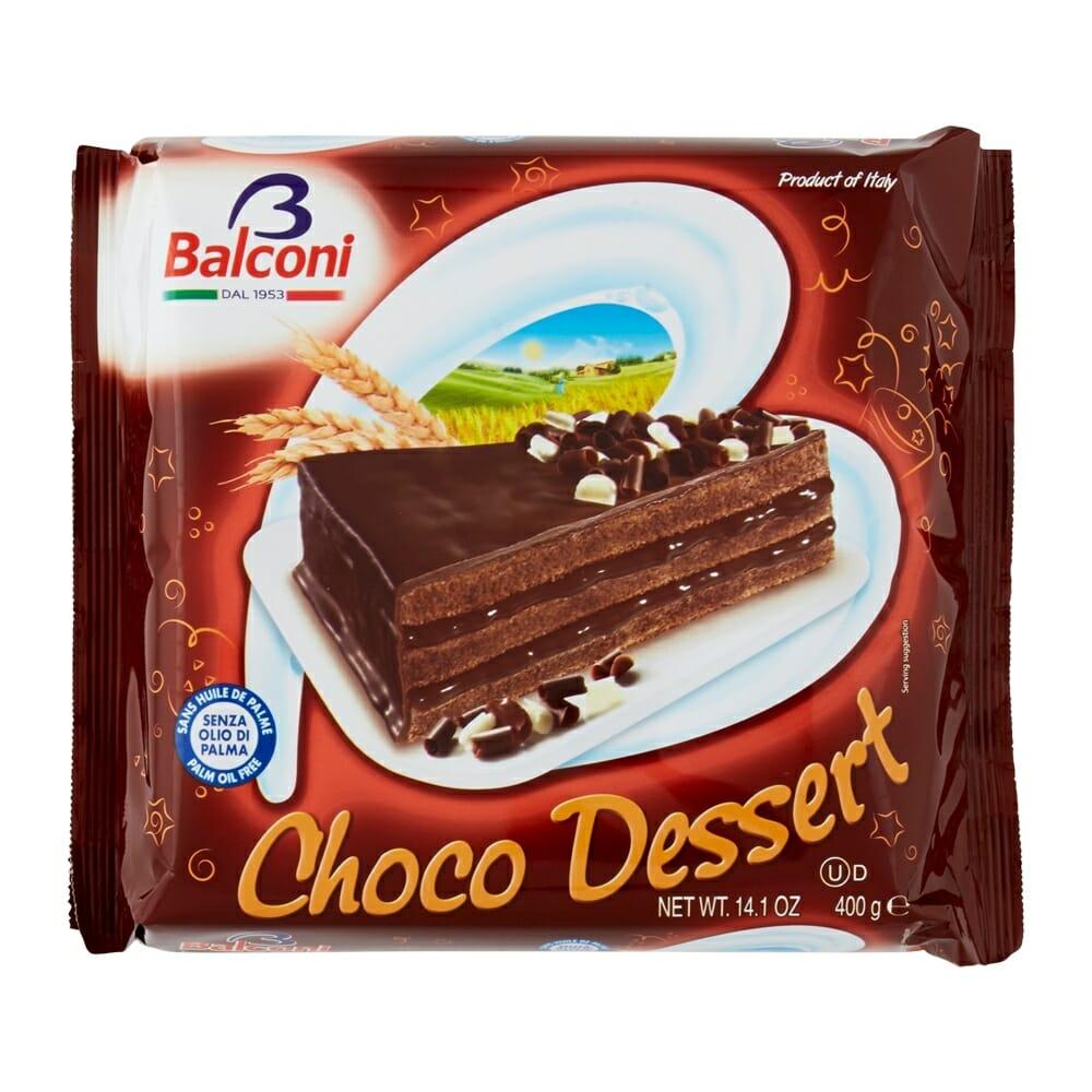 Balconi Torta Choco Dessert - 400 gr