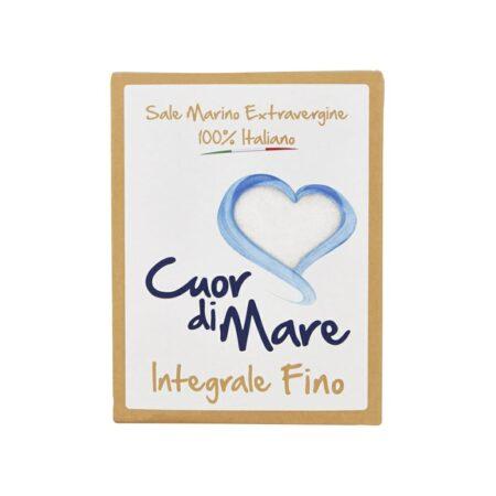 Cuor di Mare Sale Marino Integrale Fino  - 1 Kg