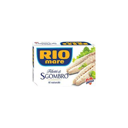 Rio Mare Filetti Sgombro al Naturale - 125 gr