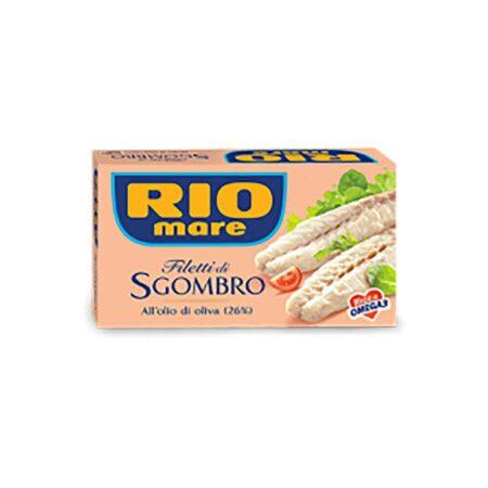 Rio Mare Filetti Sgombro Olio d'Oliva - 125 gr
