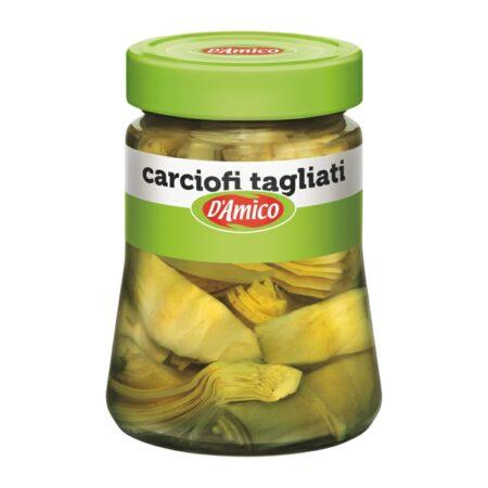D'Amico Carciofi Tagliati sott'olio - 280 gr