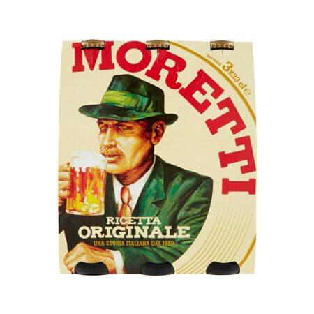 Birra Moretti Ricetta Originale - 3 x 33 cl
