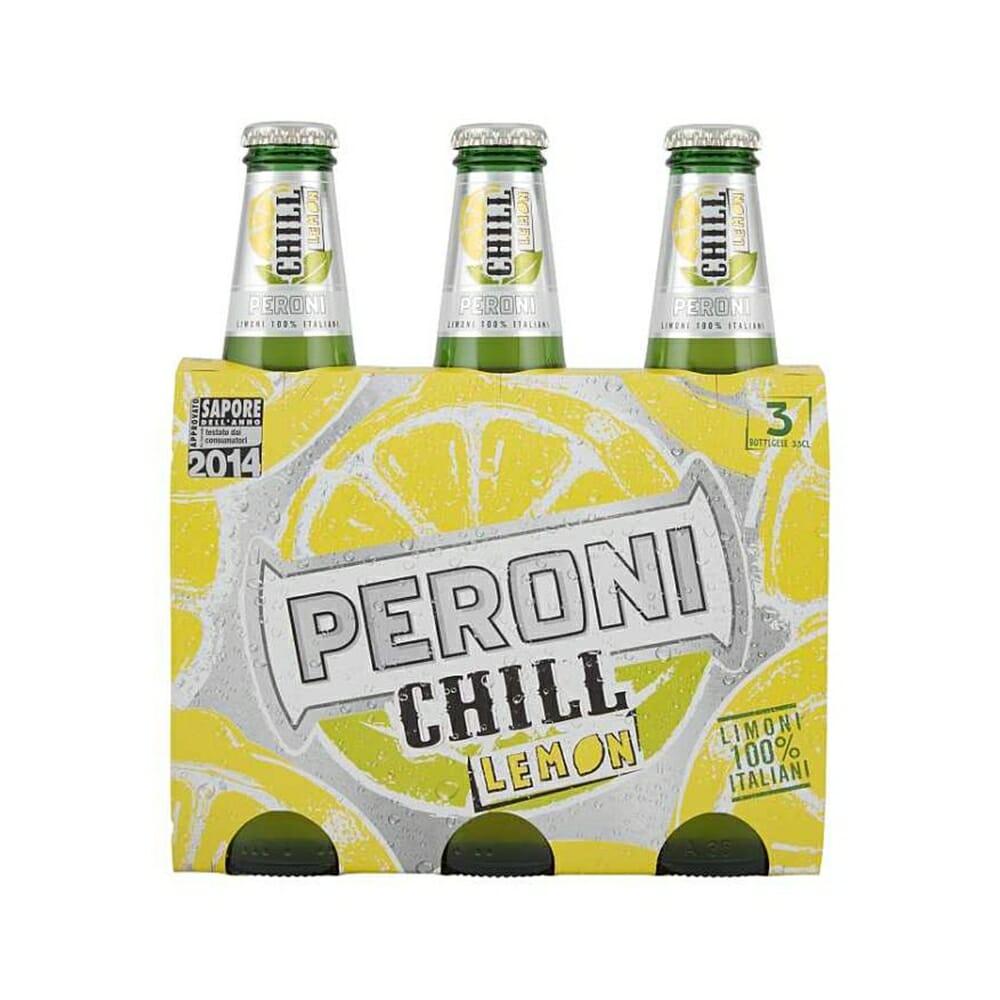 Birra Peroni Chill Lemon - 3 x 33