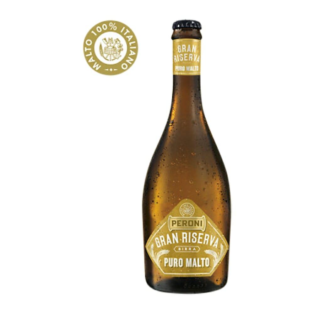Birra Peroni GranRiserva Puro Malto - 50 cl