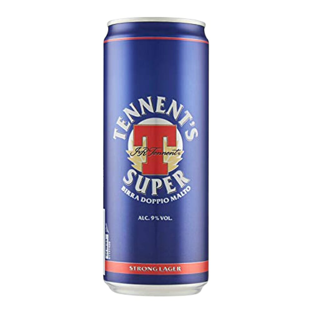 Birra Tennent's Super Strong Lager - 33 cl