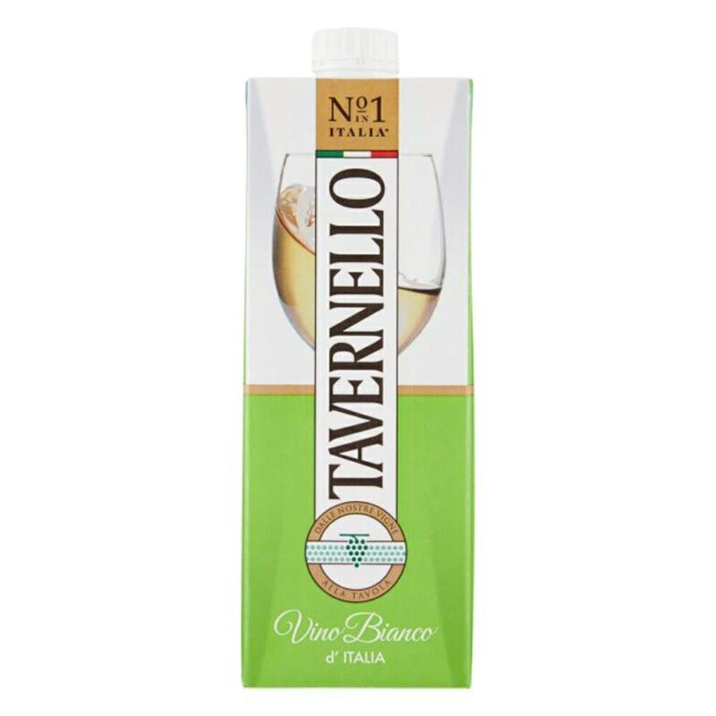 Tavernello Vino Bianco Brik - 1 L
