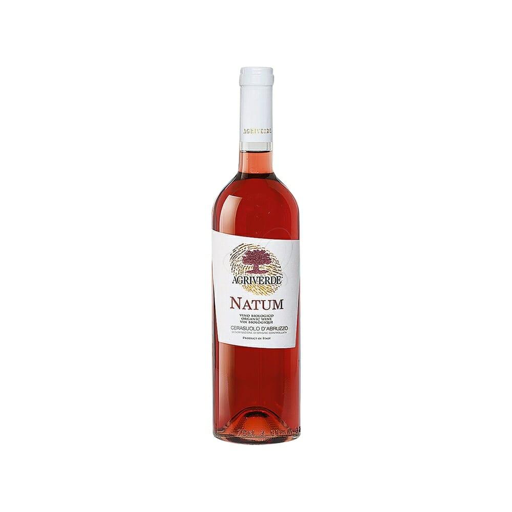 Agriverde Natum Cerasuolo Rosa d'Abruzzo DOC Bio - 750 ml
