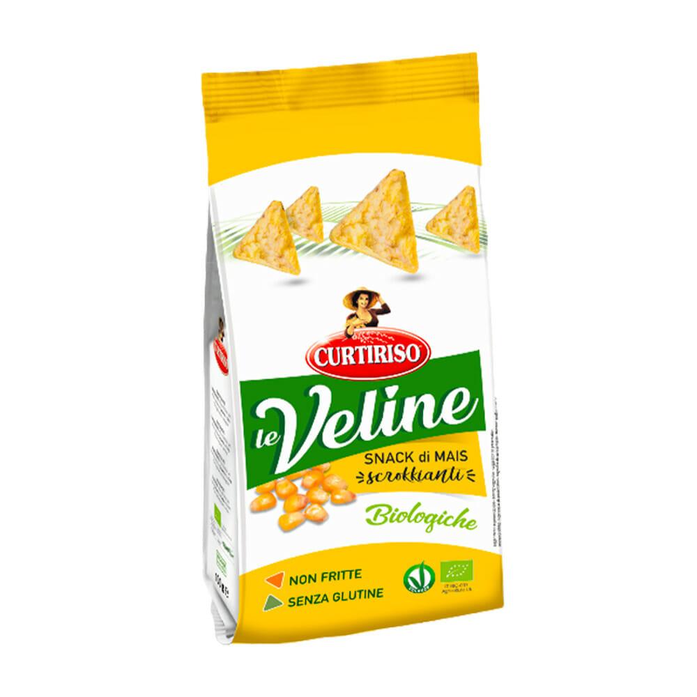 Curtiriso Veline Gallette Snack Riso Bio - 60 gr