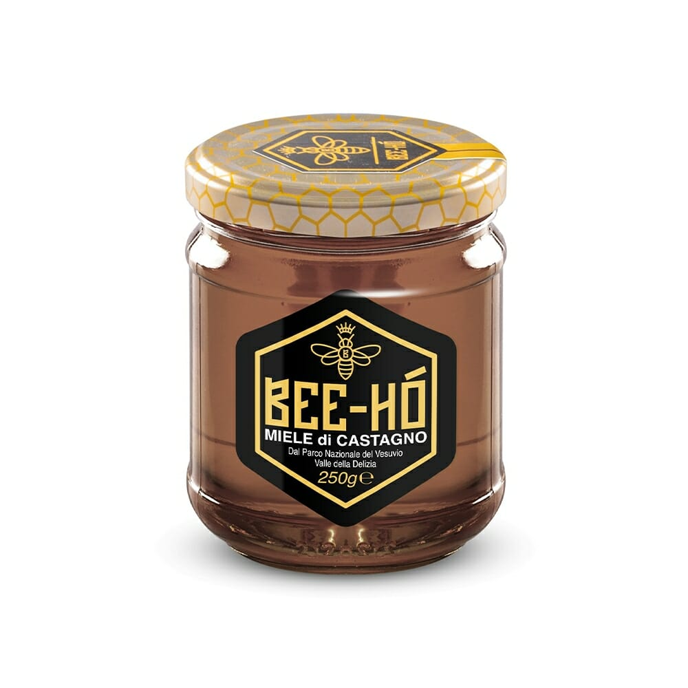 Bee Ho Miele Bio di Castagno del Vesuvio - 250 gr